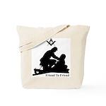 Masonic Friend to Friend Tote Bag