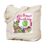 Sweet 3rd Birthday Tote Bag