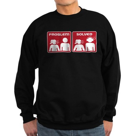 Problem Solved Sweatshirt (dark)