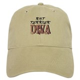 Rat Terrier DIVA Baseball Cap