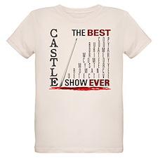 Castle: Best Show Ever Organic Kids T-Shirt