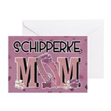 Schipperke MOM Greeting Cards (Pk of 20)