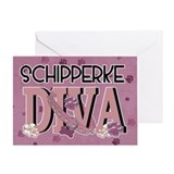 Schipperke DIVA Greeting Card