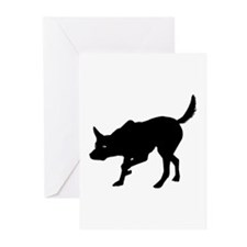 Australian Kelpie Greeting Cards (Pk of 10)