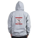 Two-side Help Landseer Help Zip Hoodie