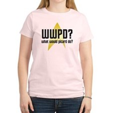 Star Trek: WWPD? Women's Light T-Shirt
