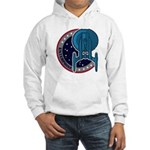 Enterprise Mission Patch (large) Hooded Sweatshirt