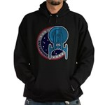 Enterprise Mission Patch (large) Hoodie (dark)