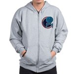 Enterprise Mission Patch (large) Zip Hoodie