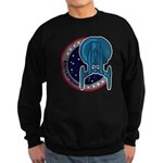 Enterprise Mission Patch (large) Sweatshirt (dark)