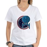 Enterprise Mission Patch (large) Women's V-Neck T-