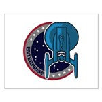 Enterprise Mission Patch (large) Small Poster