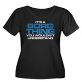 Star Trek: Borg Thing Women's Plus Size Scoop Neck