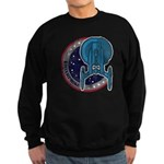 Enterprise Patch (worn look) Sweatshirt (dark)
