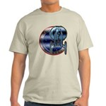 Enterprise Patch (metal look) Light T-Shirt