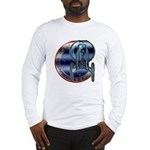 Enterprise Patch (metal look) Long Sleeve T-Shirt