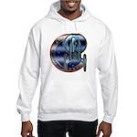Enterprise Patch (metal look) Hooded Sweatshirt