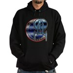 Enterprise Patch (metal look) Hoodie (dark)