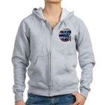 Enterprise Patch (metal look) Women's Zip Hoodie