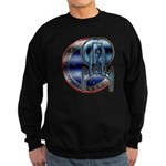 Enterprise Patch (metal look) Sweatshirt (dark)