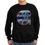 Enterprise Patch (metal look) Sweatshirt (dark)