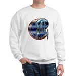 Enterprise Patch (metal look) Sweatshirt
