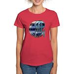 Enterprise Patch (metal look) Women's Dark T-Shirt