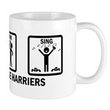 Run, Drink, Sing Small Mug