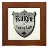 """Net Knight"" Framed Tile"