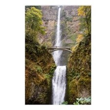 Multnomah Falls Oregon Postcards (Package of 8)