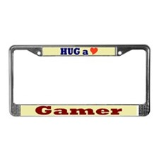 Hug a Gamer License Plate Frame