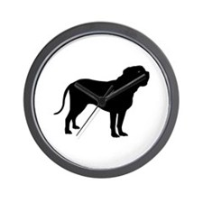 Dogue de Bordeaux Wall Clock