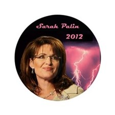"Sarah Palin 2012 3.5"" Button (100 pack)"