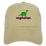 Vegetarian - Dinosaur Baseball Cap