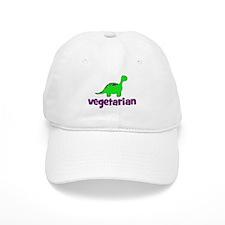 Vegetarian - Dinosaur Baseball Cap