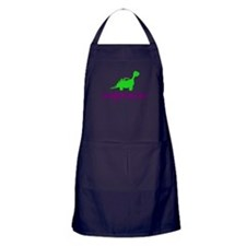 Vegetarian - Dinosaur Apron (dark)