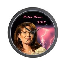 Palin Time 2012 Wall Clock