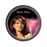 Sarah Palin Wall Clock