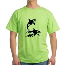 Killer Whale Family T-Shirt