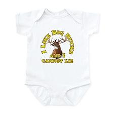 I Like Big Bucks and I Cannot Lie Infant Bodysuit