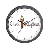 Earth Rhythms Wall Clock