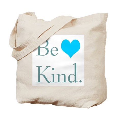 """Be Kind"" with a heart. Tote Bag"