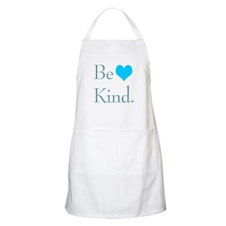 """Be Kind"" with a heart. BBQ Apron"