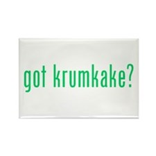 got krumkake? (green) Rectangle Magnet