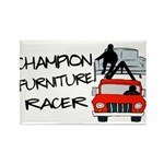 Champion Furniture Racer Rectangle Magnet
