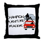 Champion Furniture Racer Throw Pillow