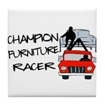 Champion Furniture Racer Tile Coaster