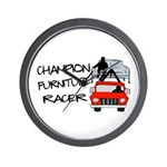 Champion Furniture Racer Wall Clock