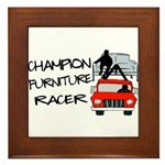 Champion Furniture Racer Framed Tile