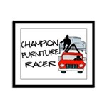 Champion Furniture Racer Framed Panel Print